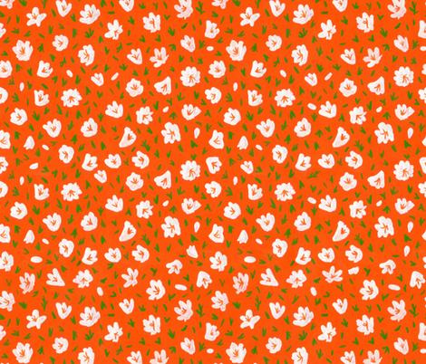 Azaleas fabric by mayabeeillustrations on Spoonflower - custom fabric