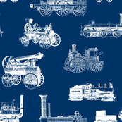 Antique Steam Engines - Navy