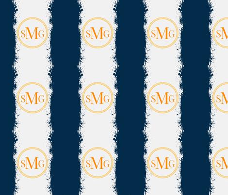 Tie Dye 12x12 in darkest navy Gray mist Personalized SMG fabric by drapestudio on Spoonflower - custom fabric