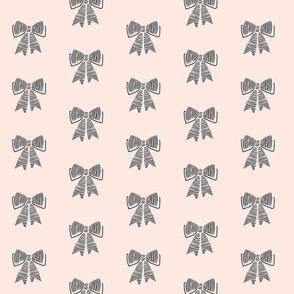 schoolgirl bows // pink 41%