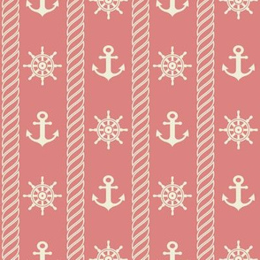 Nautical Print // Pink