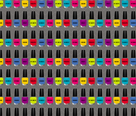 Nail Polish fabric by amandapowell8 on Spoonflower - custom fabric