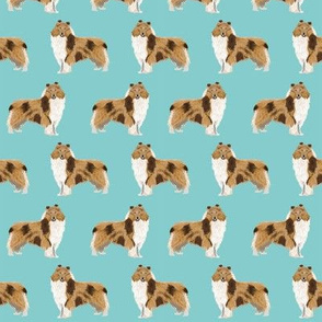 rough collie dog fabric cute rough collie print pattern for sewing quilters cute dog design