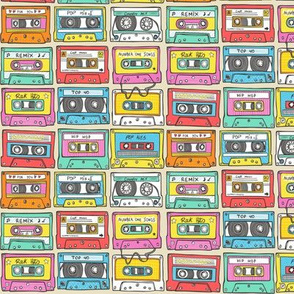 Nostalgia audio tape 1,5 inch wide