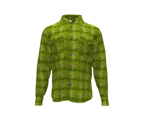 FUSION GOLD DROPS SQUARES CHARTREUSE GREEN