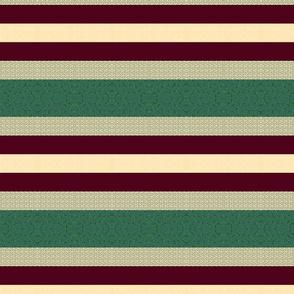 Mistletoe Stripes