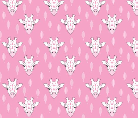 Giraffe-and-leaves---grey---bright-pink_shop_preview
