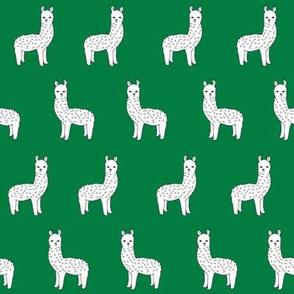alpacas // green alpaca llama fabric cute hand-drawn illustration andrea lauren fabric cute fabrics andrea lauren design