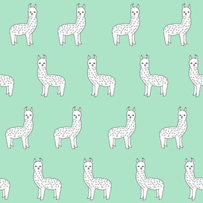 alpaca // mint green alpaca fabric cute llama design best nursery fabrics cute mint and white fabric