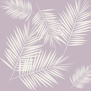 Palm leaves - lavender Palm leaf Palm tree tropical || by sunny afternoon
