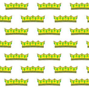 Green Tiara 2- White Background