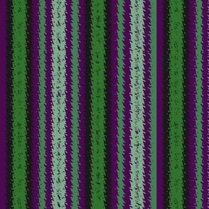 Purple and Green Tango Stripes