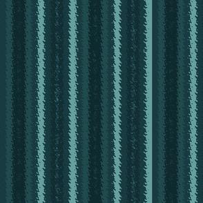 JP33 - Teal Monochrome Jagged Stripes