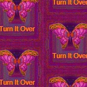 Purple Butterfly Turn It Over