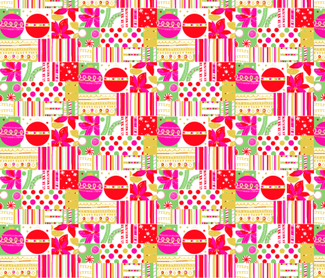 christmas galore fabric by nsta on Spoonflower - custom fabric