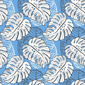Tropical Jungle Blue