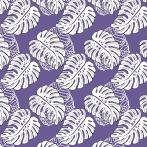 Tropical Jungle Ultra Violet