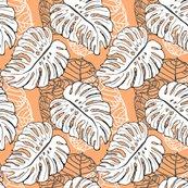 Rrrmonstera_seagrape_pattern_peach_ffad74_shop_thumb
