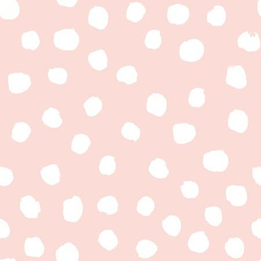 blush dots baby nursery design