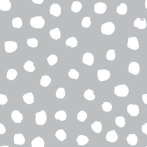 dots fabric white grey dots nursery baby nursery design