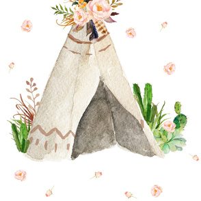 Dream Big Little One Teepee for - 2 YARDS