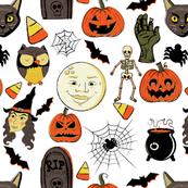 "Vintage Halloween 8"""