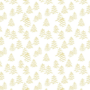 trees gold