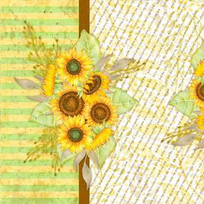 TeaTowel - Sunflowers 2