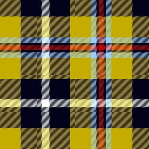 Cornish National Tartan - cooler yellow