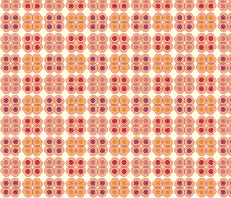 Amla Berry Medium Warm 4 Colour fabric by prydverk on Spoonflower - custom fabric