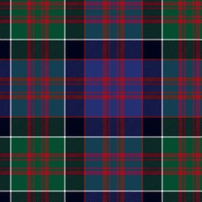 MacDonald of Clan Ranald tartan - muted