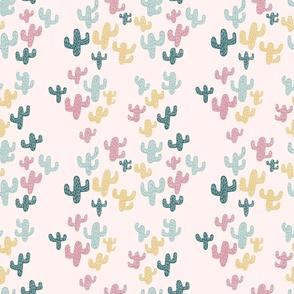Colorful Saguaro Cactus