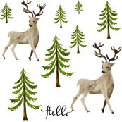 Hello Deer - Hello Writing