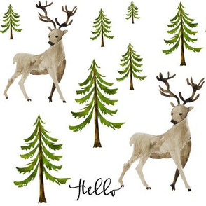 Hello Deer - Hello Writing