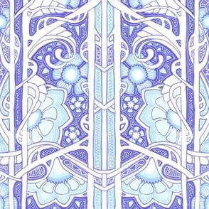 Flowering Vine Blues