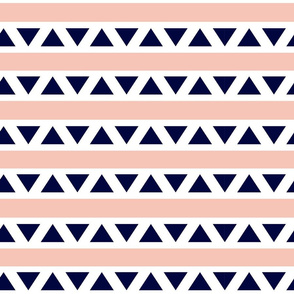 ETNIC Triangles Pink
