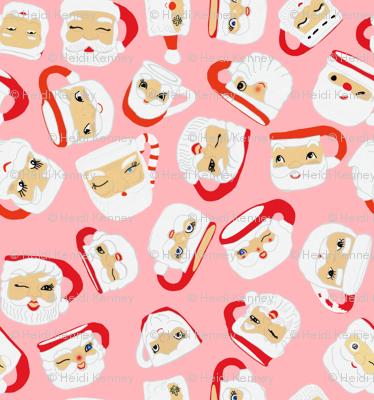 Santa Mug Collection (pink)