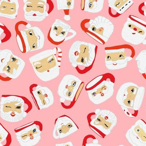 Santa Mug Collection (pink)
