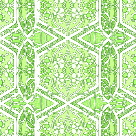 The First Week of Spring fabric by edsel2084 on Spoonflower - custom fabric