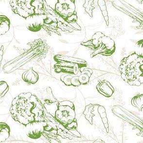 Veggie Herb Print