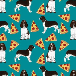 english springer spaniel pizza fabric dog pizza design english springer spaniels dog design