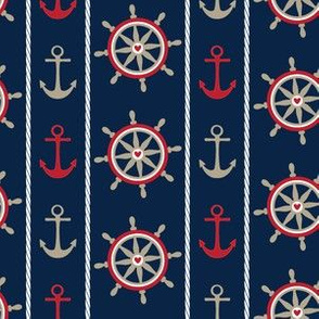 Anchors - Navy