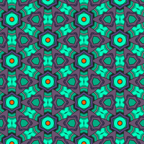 Strelitzia #5 fabric by susiprint on Spoonflower - custom fabric