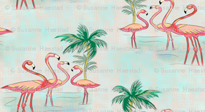 Flamingo small size