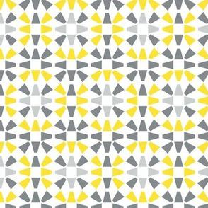 Geometrical mosaic