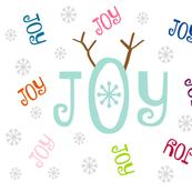 Joyous Snowflakes 21 - antler multi