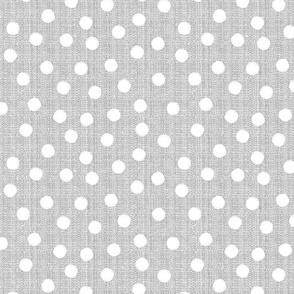 snowballs-polka dots-gray