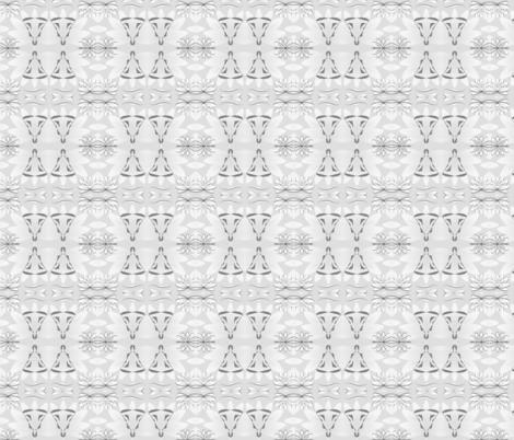 Grey Yogi fabric by gargoylesentry on Spoonflower - custom fabric