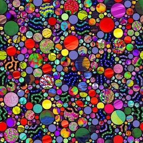 PROFUSION CIRCLES BUBBLES MULTICOLOR