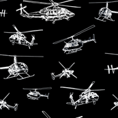 Helicopters - Black